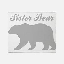 Sister Bear Throw Blanket