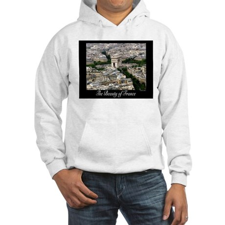 The Beauty of France Hooded Sweatshirt