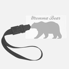 Momma Bear Luggage Tag