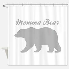 Momma Bear Shower Curtain