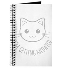 Im Getting Meowied Journal