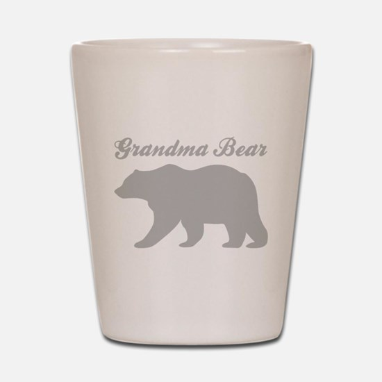 Grandma Bear Shot Glass