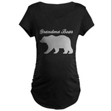 Grandma Bear Maternity T-Shirt