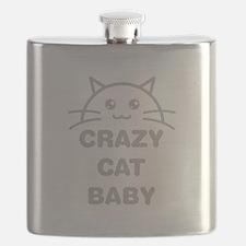 Crazy Cat Baby Flask