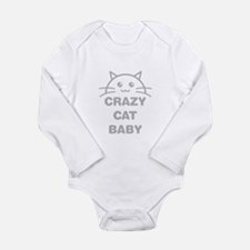 Crazy Cat Baby Body Suit