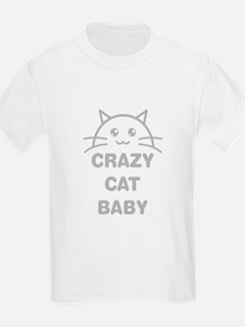 Crazy Cat Baby T-Shirt