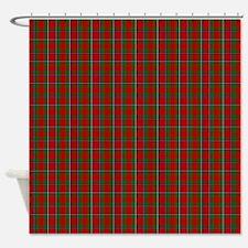 Sinclair Scottish Tartan Shower Curtain
