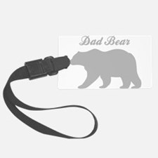 Dad Bear Luggage Tag