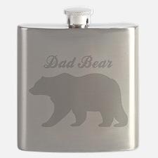 Dad Bear Flask