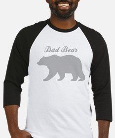 Dad Bear Baseball Jersey