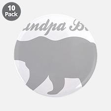 "Grandpa Bear 3.5"" Button (10 pack)"