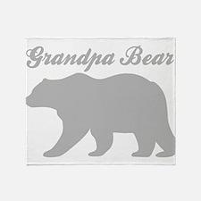 Grandpa Bear Throw Blanket