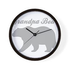 Grandpa Bear Wall Clock