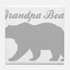 Grandpa Bear Tile Coaster