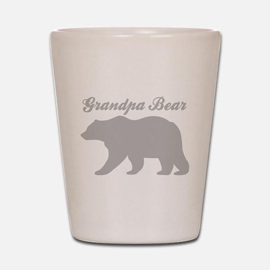 Grandpa Bear Shot Glass