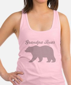 Grandpa Bear Racerback Tank Top