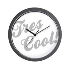 Tres Cool Wall Clock