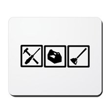Janitor tools Mousepad