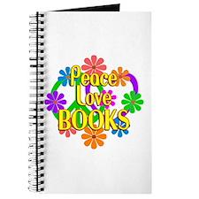 Peace Love Books Journal