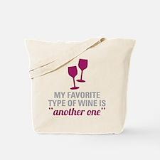 Favorite Wine Tote Bag