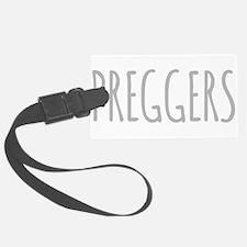 Preggers Luggage Tag