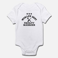 World's best Facility Manager Infant Bodysuit