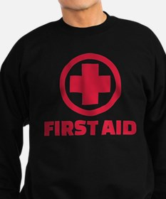First aid Sweatshirt (dark)