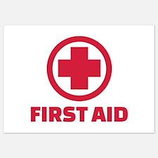 First aid Invitations