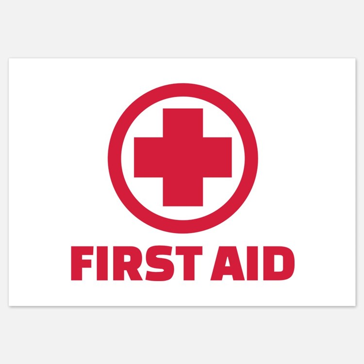 First aid Invitations