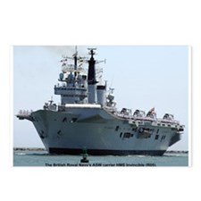 HMS Invincible Postcards (Package of 8)
