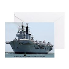 HMS Invincible Greeting Card