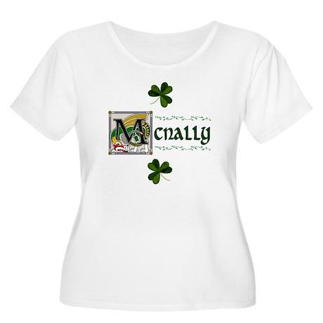 McNally Celtic Dragon Women's Plus Size Scoop Neck