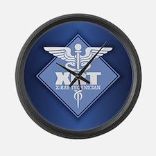 XRT (b)(diamond) Large Wall Clock