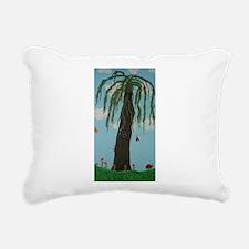 Magic Tree Rectangular Canvas Pillow