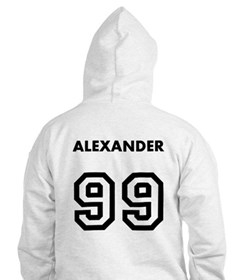 Personalized Basketball Hoodie