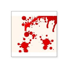 Blood Splatter Sticker