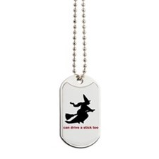 Drive a Stick Dog Tags