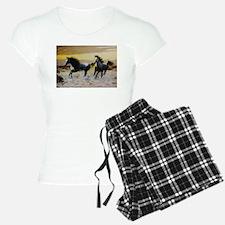 Golden Horses Pajamas