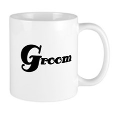 Black Groom Mug