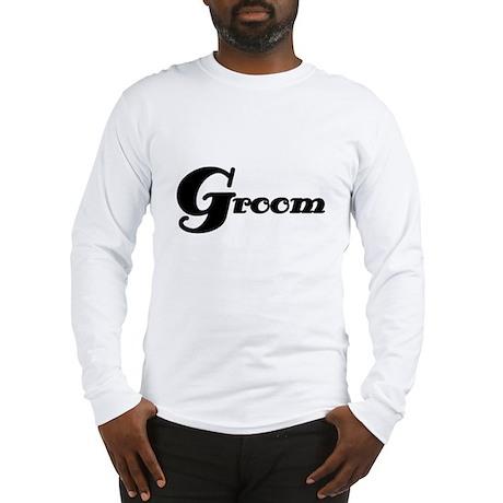 Black Groom Long Sleeve T-Shirt