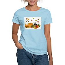Cute Halloween cats T-Shirt
