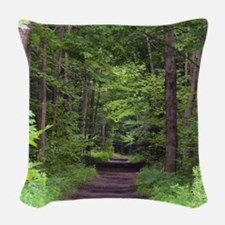 Nature Tail Woven Throw Pillow
