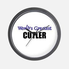 Worlds Greatest CUTLER Wall Clock