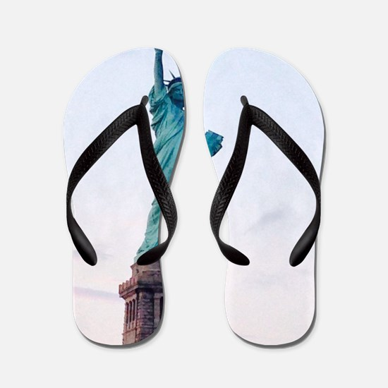 New York is Epic Raoul's Fave Flip Flops
