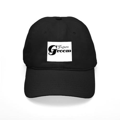 Future Groom Black Black Cap