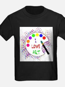 Cute Love art T