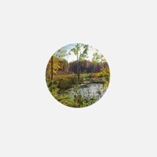 Lush Pond Scereny Mini Button