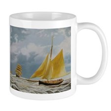 Ghost Boat Mugs