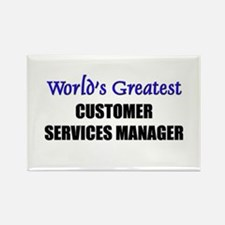 Worlds Greatest CUSTOMER SERVICES MANAGER Rectangl