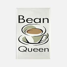 Bean Queen Rectangle Magnet